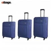 مجموعه چمدان آمریکن توریستر آبی-BROOK-04O