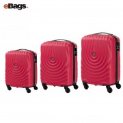 مجموعه چمدان کاملینت قرمز KAPA AY9