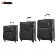مجموعه چمدان کاملینت مشکی TORO 82W