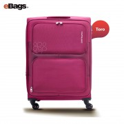 مجموعه چمدان کاملینت قرمز TORO 82W