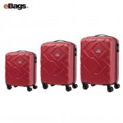 مجموعه چمدان کاملینت قرمز OHANA DJ1