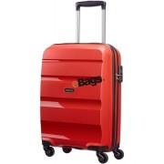 چمدان آمریکن توریستر چرخدار 55 سانت قرمز-BONAIR-85A 005