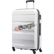 چمدان آمریکن توریستر چرخدار 55 سانت سفید-BONAIR-85A 005