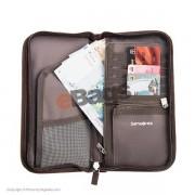 کیف حمل اسناد سامسونایت--Z34 016--Beige Travel Wallet