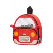 کوله پشتی کودک متوسط طرح ماشین قرمز سامسونایت - Funny Face Red Car -21U 00 003