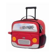 چمدان کودک طرح ماشین قرمز سامسونایت - ROLL SCHOOL CARS RED -21U 00 005