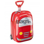 چمدان کودک طرح ماشین قرمز سامسونایت - HARD UPRIGHT 52CM CARS RED -21U 00 007