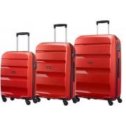 مجموعه چمدان آمریکن توریستر قرمز-Bonair-85A