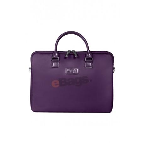 کیف لپ تاپ زنانه 15 اینچ Lipault Paris با کد P51 019 و LADY PLUME LAPTOP BAG