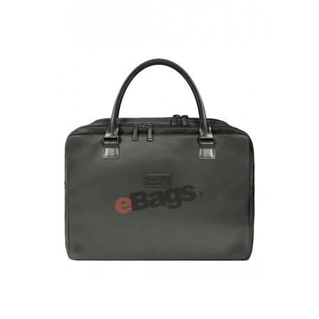 کیف لپ تاپ زنانه 15 اینچ Lipault Paris مشکی با کد P51 021 و LADY PLUME LAPT. BAILHANDLE