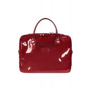 کیف لپ تاپ زنانه 15 اینچ Lipault Paris قرمز با کد P57 102 و PLUME VINYLE LAPT. BAILHANDLE