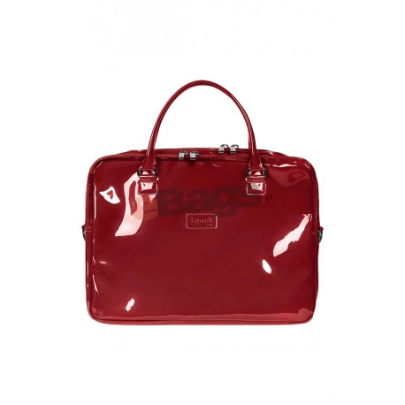 کیف لپ تاپ زنانه 15 اینچ Lipault Paris مشکی با کد P57 102 و PLUME VINYLE LAPT. BAILHANDLE