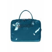کیف لپ تاپ زنانه 15 اینچ Lipault Paris آبی با کد P57 102 و PLUME VINYLE LAPT. BAILHANDLE