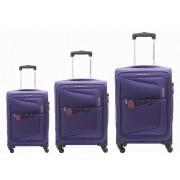 مجموعه چمدان آمریکن توریستر آبی-AT COSTA-75W