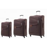 مجموعه چمدان آمریکن توریستر قهوه ای-AT COSTA-75W
