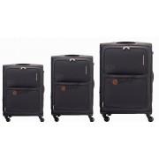 مجموعه چمدان کاملینت مشکی TORO-82W
