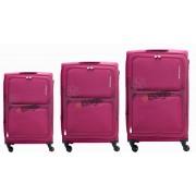 مجموعه چمدان کاملینت بنفش TORO-82W