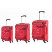 مجموعه چمدان کاملینت قرمز HARITA-AM5