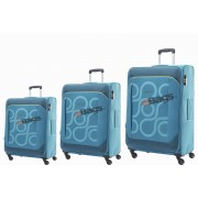 مجموعه چمدان کاملینت آبی HARITA-AM5